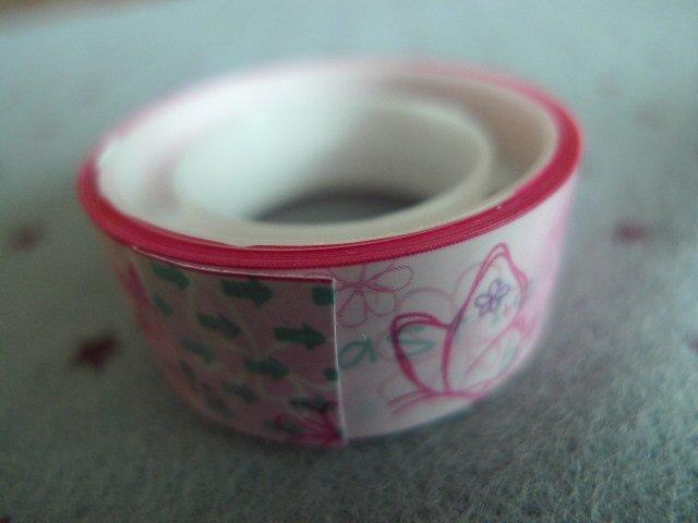 Japan Pink Butterfly Deco Tape KAWAII