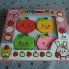 Korea Sweet Fruit 4 Erasers Pack KAWAII