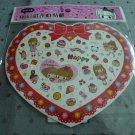 Taiwan Miki Strawberry & Sweet Sprarly Sticker KAWAII