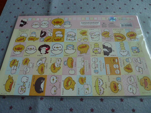 Japan San-x Kamonohashikamo Duckie Sticker KAWAII