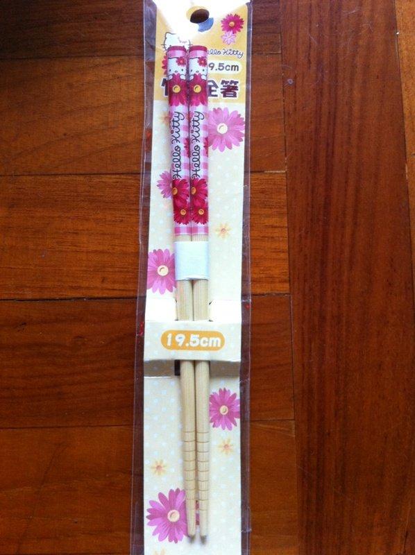 Japan Hello Kitty Flower chopsticks KAWAII