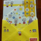 JAPAN Moshi Moshi Bear Lettersets Pack KAWAII