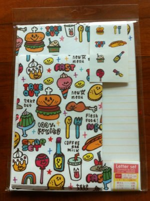 JAPAN Food & Snack Lettersets Pack KAWAII