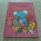 Korea Bear with Dolls Notebook KAWAII