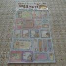 Korea Glittery Nametag Sticker KAWAII