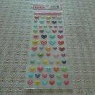 Korea Hearts Jelly Sticker KAWAII