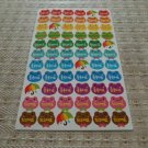 Korea Colourful Frog Sticker KAWAII