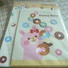 Taiwan Rabbit Donuts Memosets Pack KAWAII