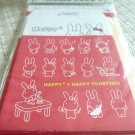 Taiwan Rabbit Happy Together Memosets Pack (Red) KAWAII