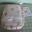 Japan Flower Pink Cosmetic Bag KAWAII