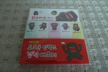 Japan / Korea Domo kun Sticky Memosets (Red) KAWAII