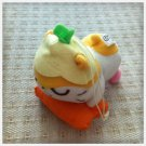 JAPAN CuroCuroKuririn Hamster Doll Chain KAWAII