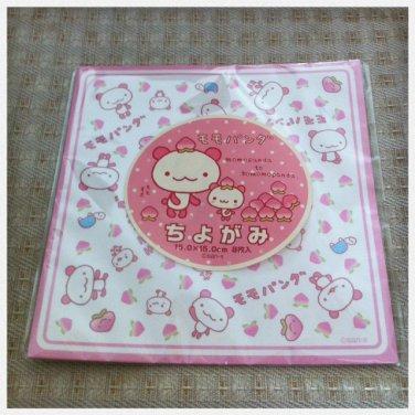 JAPAN San-x Momo Panda Origami Pad (Folding Paper) Kawaii
