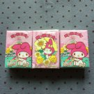3x Japan Sanrio My Melody w/ Sunflower Tissue Packs KAWAII
