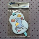 JAPAN Disney Eeyore Luggage Tag KAWAII