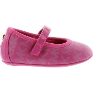 New In Box MICHAEL KORS INFANT Baby Mara Aria SHOES/FLATS SIZE 3 PINK