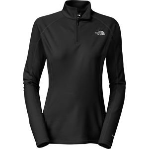 The North Face Light Zip Neck Baselayer Top BLACK XL Orig. $50 NEW W TAG