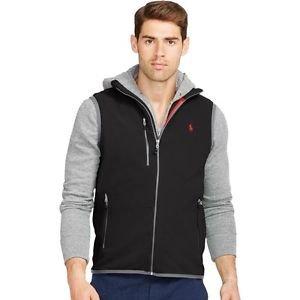 NWT Polo Ralph Lauren Men's Micro Fleece Zipper Vest Orig. $115