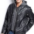 Calvin Klein Men's Faux Lamb Moto Jacket (Retail $130) NEW W TAG