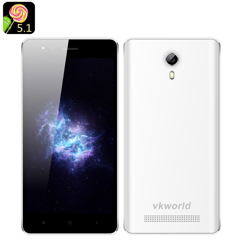 VKWorld F1 Android 5.1 Smartphone(White)
