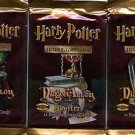 Harry Potter Trading Card Game- Three (3) Diagon Alley Booster Packs