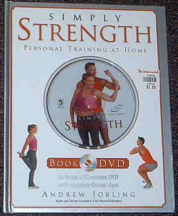 Simply Strength Exercise DVD & Book