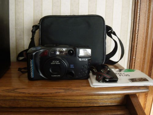 Fuji Discovery 38mm to 85mm Zoom Camera 1992 w bag