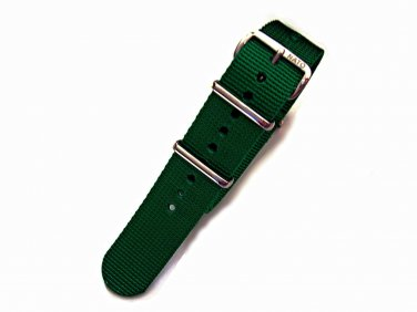 NATO G10® Green Solid EDGE� Ballistic Nylon Watchband Watch Strap
