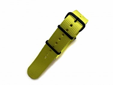NATO G10® Yellow Solid EDGE� Ballistic Nylon Watchband Watch Strap