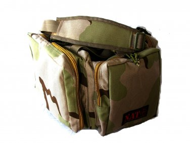 NATO® Tactical Survival� Gun Range Bag Desert Camo
