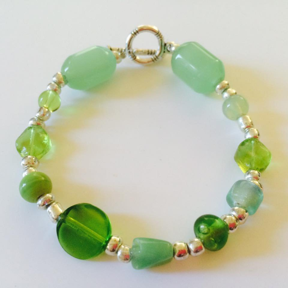 Pebble Beach Bracelet in Green