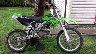 2004 Kawasaki KX 250F $3.400