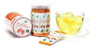 Peach Iced Green Tea Extract, All Natural Ingredients