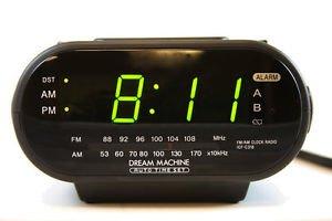 Dual Alarm Clock DVR SD Card  Hidden Spy Camera+Remote Control