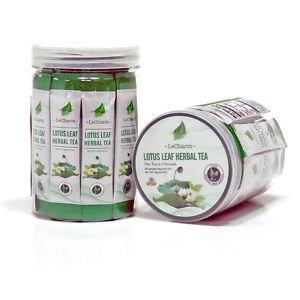 Lotus Leaf Herbal Tea Powder Helps to Lower Blood Sugar 30 Sachets