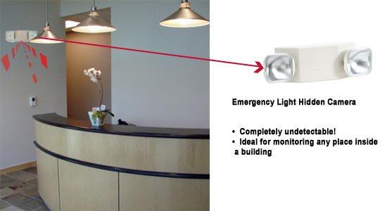 Emergency Light BC1093 CCTV Security Surveillance Camera