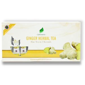 Ginger Herbal Tea 20 Sachets Box Set Tea For Winter
