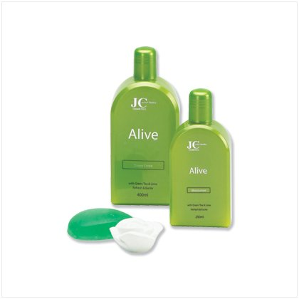 Lime Green Tea Scent Spa Set