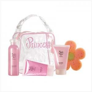 Strawberry Princess Bath Set