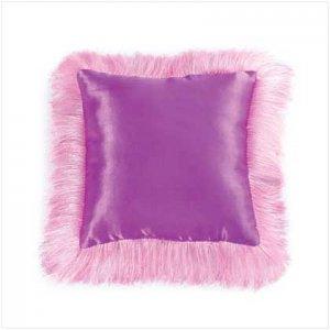 Pink Fringe Princess Pillow