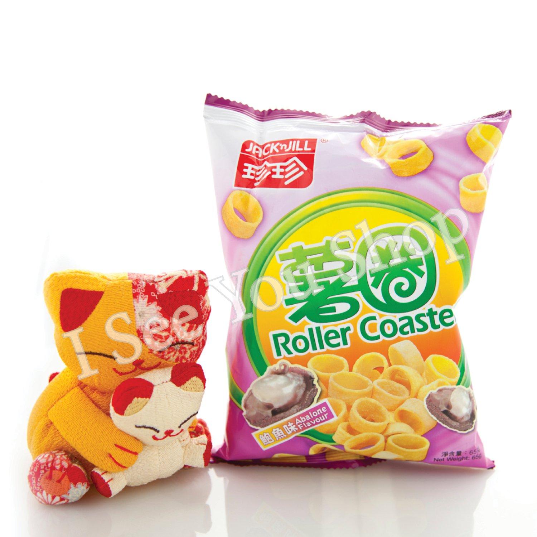 ������� Jack'n Jill Abalone Flavor Roller Coaster 65g