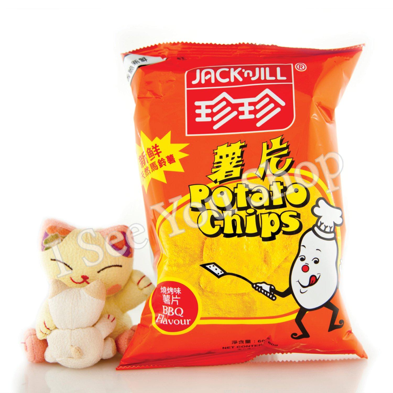 ������� Jack'n Jill BBQ Flavor Chips 60g
