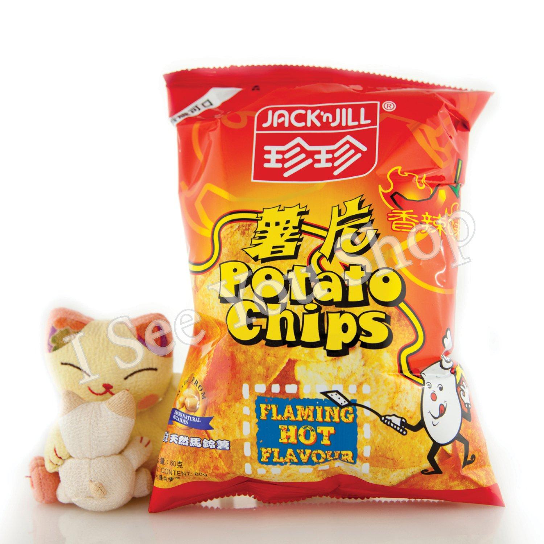 ���辣��� Jack'n Jill Hot & Spicy Flavor Chips 60g