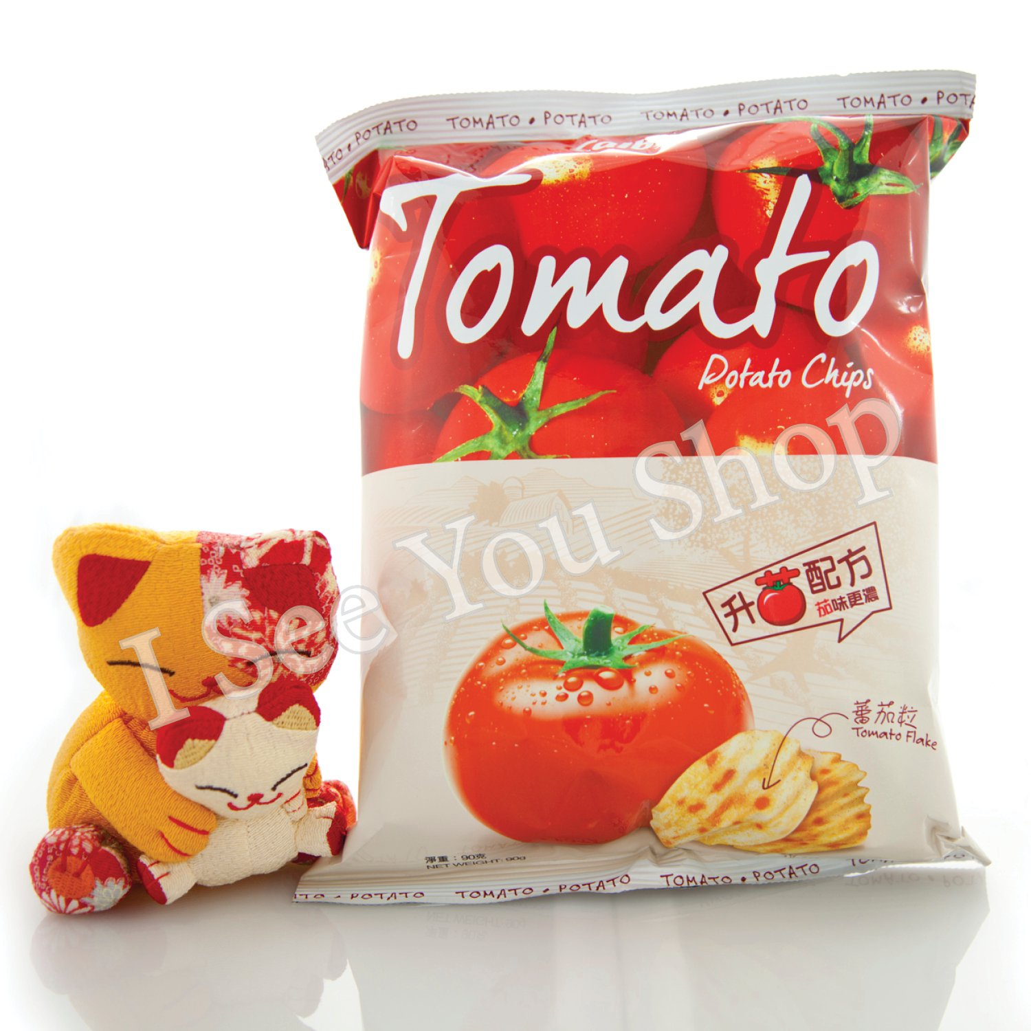 ��B ����� Calbee Tomato Potato Chips 90g