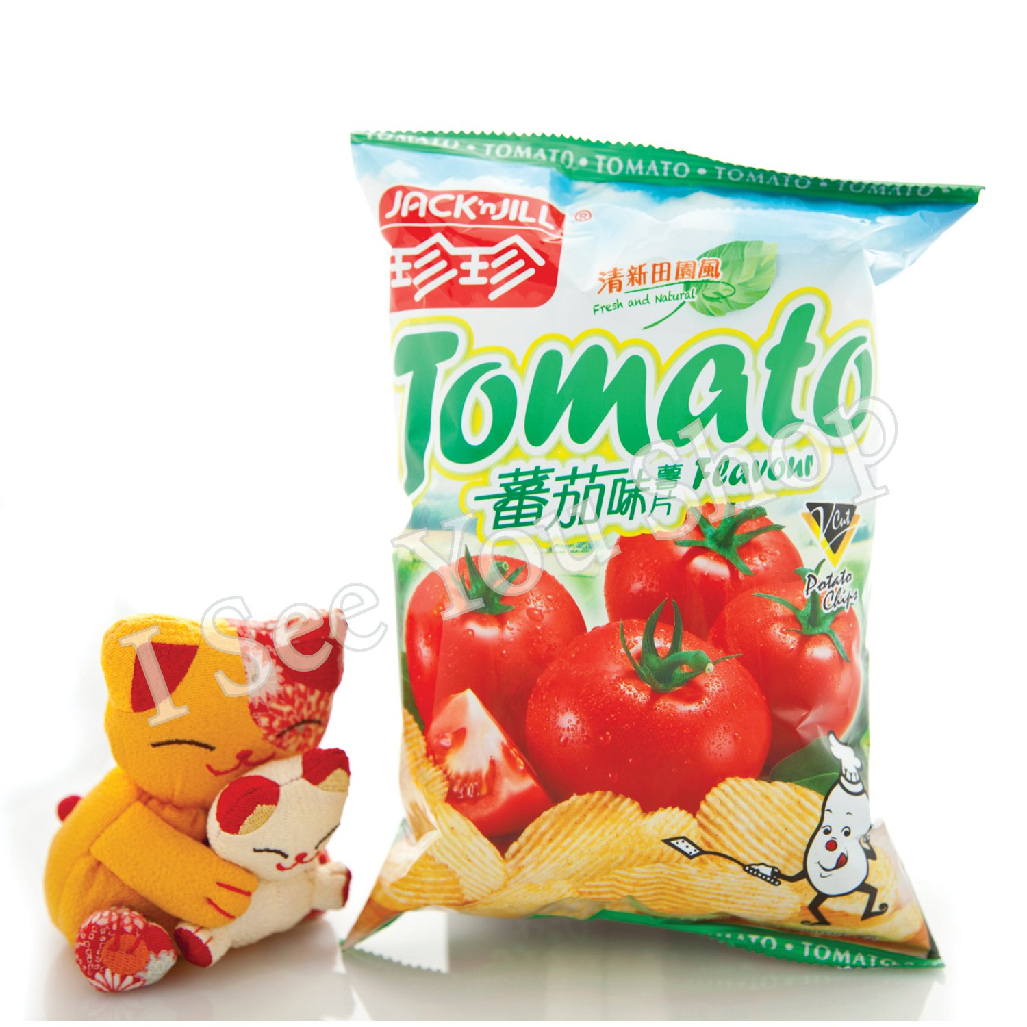 ������� Jack'n Jill Tomato Flavored Potato Chips 60G