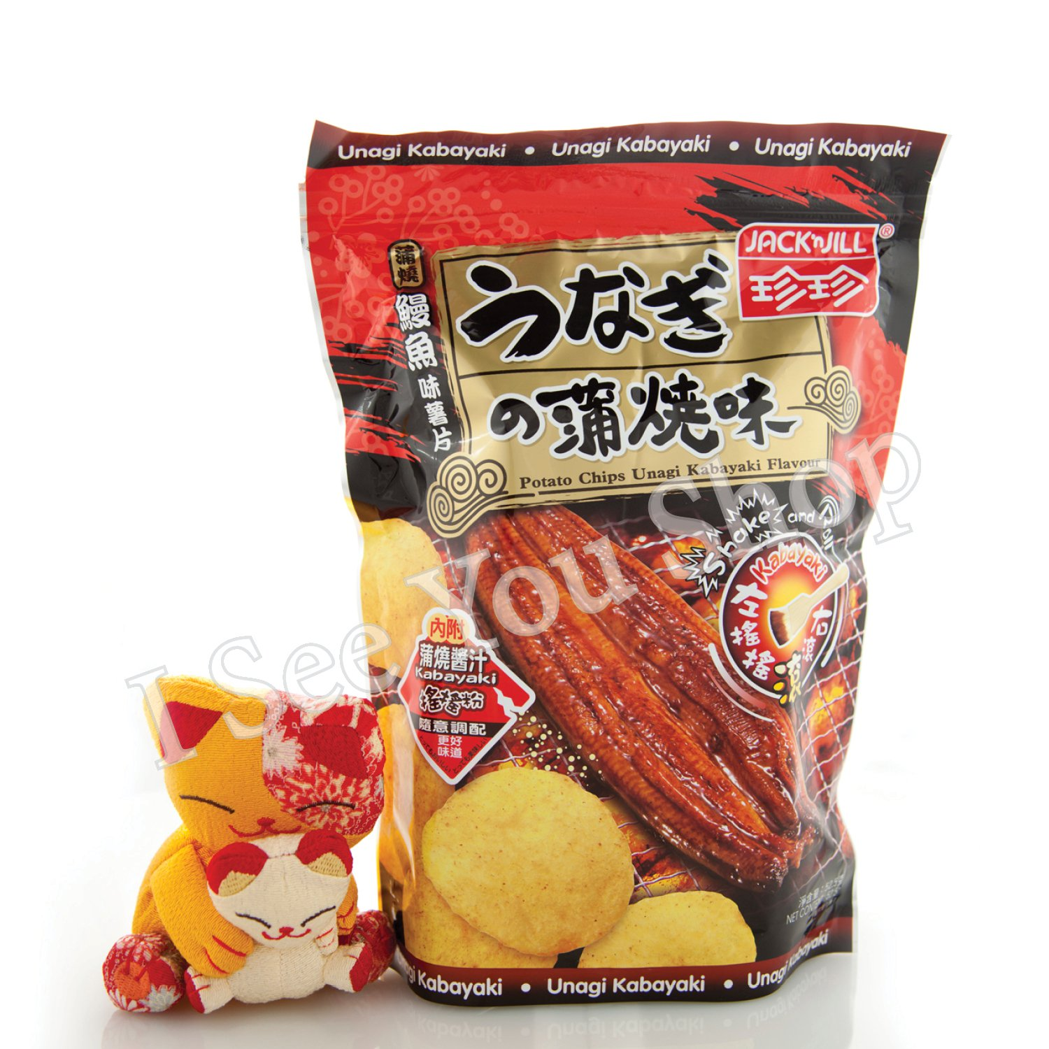 ����鰻���� Jack'n Jill Unagi Kabayaki Flavored Potato Chips 52.5g
