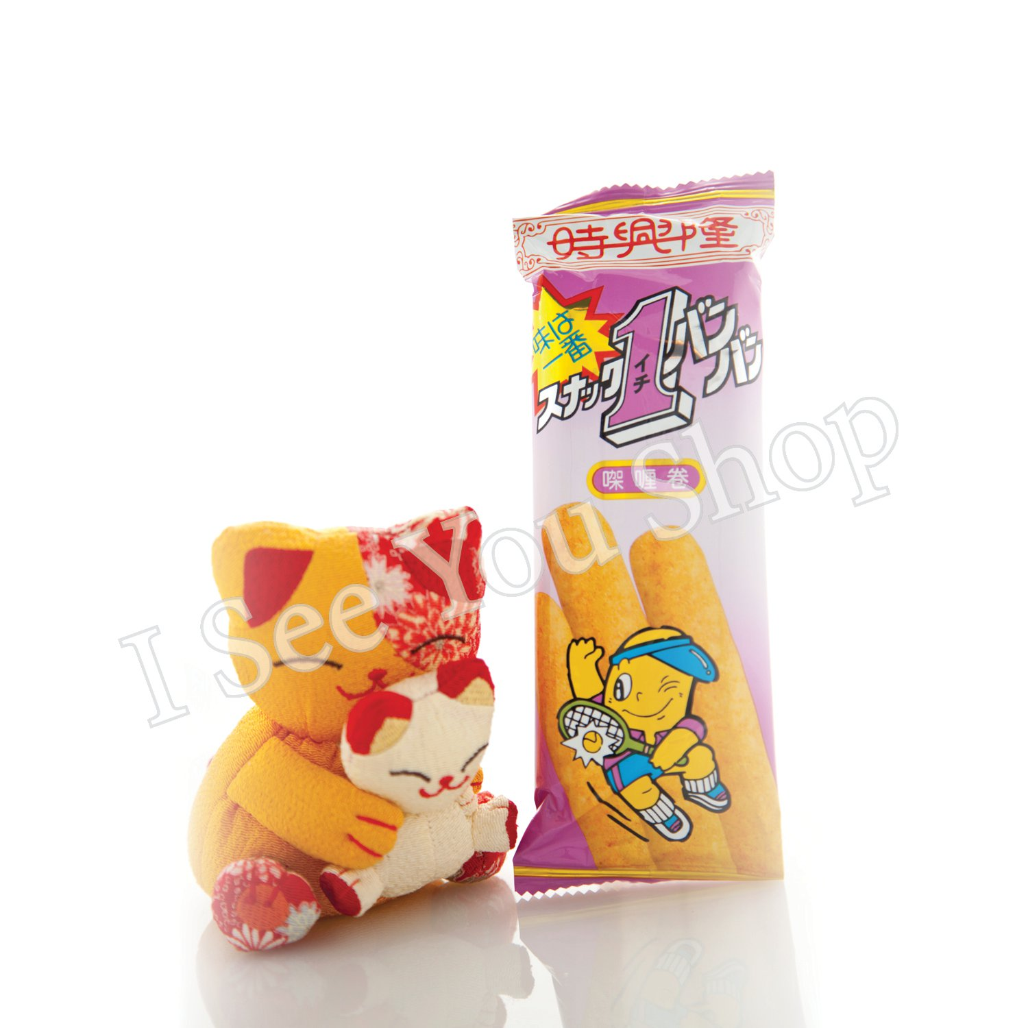 ������ Sze Hing Loong Curry Flavor Corn Roll 15g