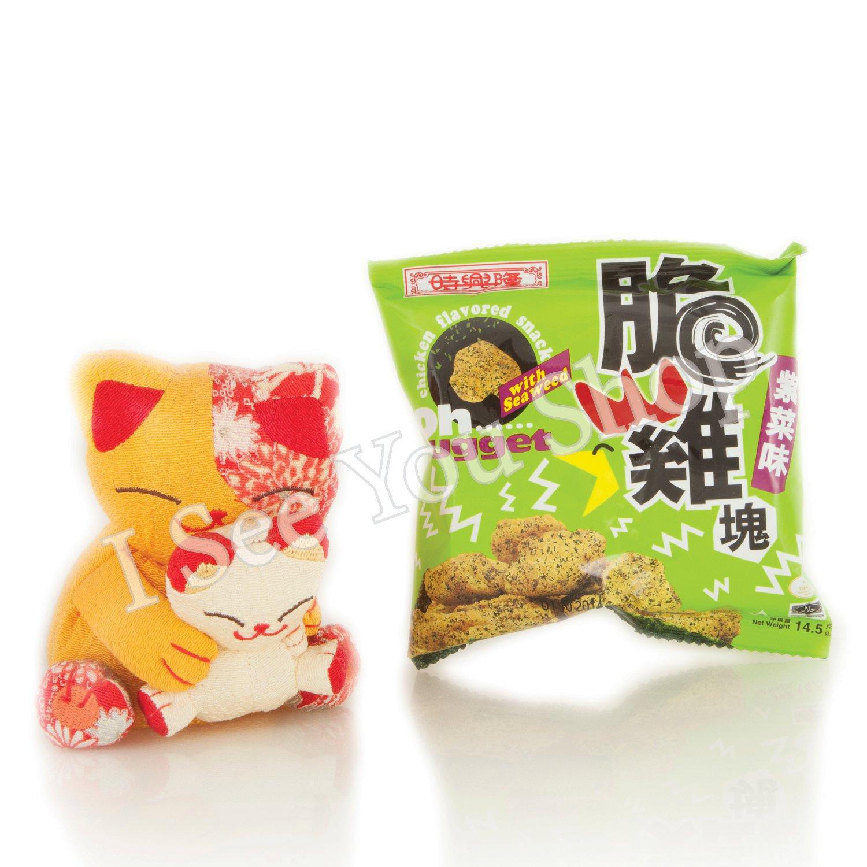 ��� 紫����� Sze Hing Loong Oh�Nugget Seaweed Flavoured Snack 14.5g