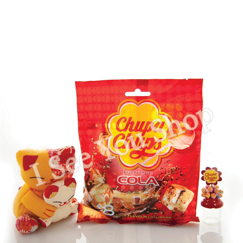 �寶� ������ Chupa Chups Cola Flavor Lollipops (8 Lollipops) 96g