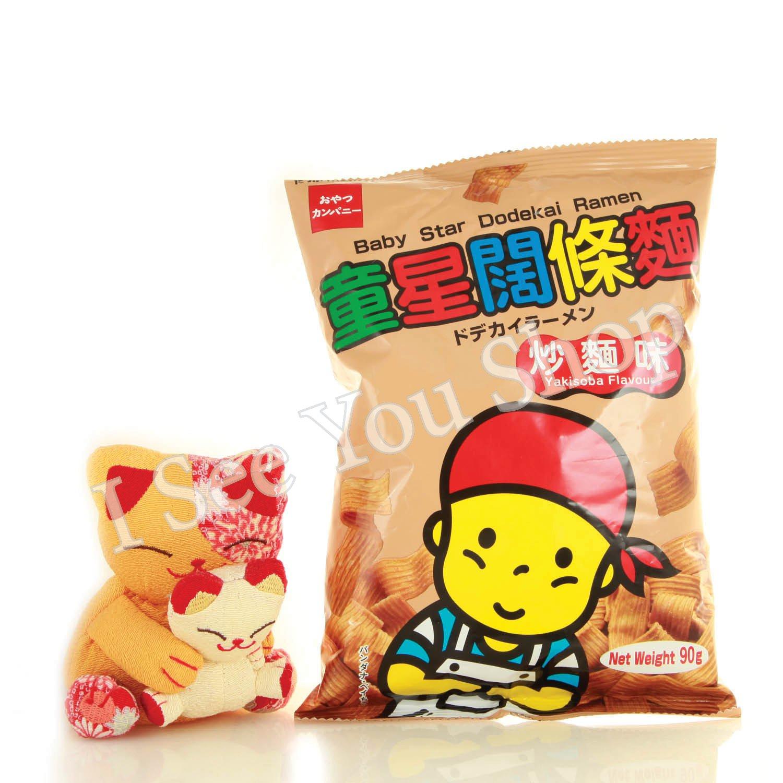 童���麵�麵� 90g Baby Star Dodekai Ramen Yakisoba flavour 90g